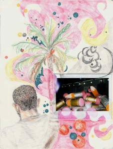 Sketchbook from Moca, Dominican Republic, page 1